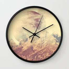 PLANETARY CONFUSION Wall Clock