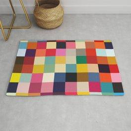 Kuula - Abstract Pixel Art Rug