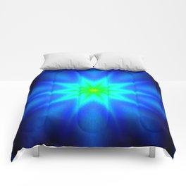 Star Bright Blue & green Comforters