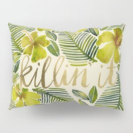 Killin' It – Tropical Yellow Pillow Sham