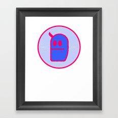 Mr. Grubbo T-Shirt. Framed Art Print