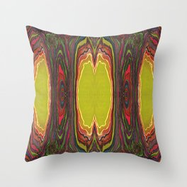 Potency of the Nectar (Secret Message) (Reflection) Throw Pillow