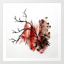 veiny Art Print