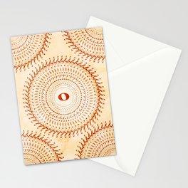 Watercolor music mandala no 2 Stationery Cards