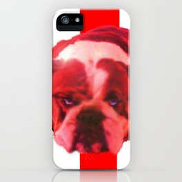 BREXIT: the Bull is Feeling: it stopped thinking. iPhone Case