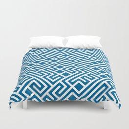 10 Print: Bold Blue Duvet Cover