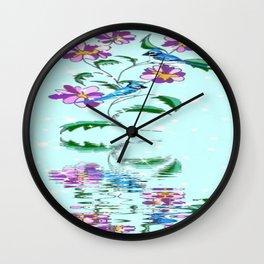 """Blue Jays"" Wall Clock"