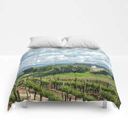 Vineyards, Temecula, CA Comforters