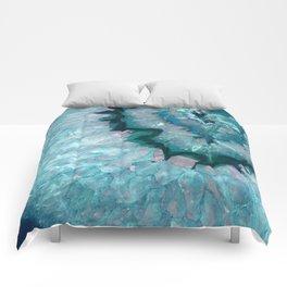 Teal Crystal Comforters