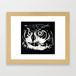 I am the Owl Framed Art Print
