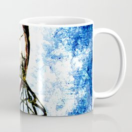 Basketball art spotlight vs 3 Coffee Mug