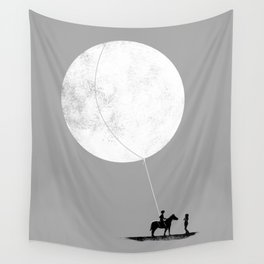 do you want the moon? Wall Tapestry