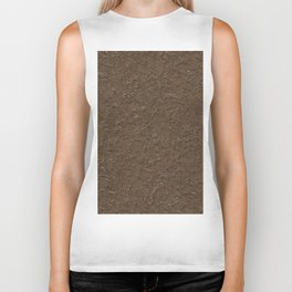 outdoor patterns brown Biker Tank