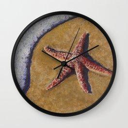 Beach Bubbles Wall Clock