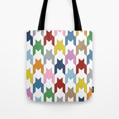 M Dog Tooth Tote Bag