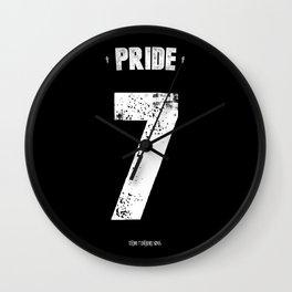 7 Deadly sins - Pride Wall Clock