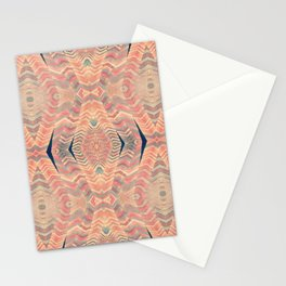 Tribal Pattern Turbans Stationery Cards