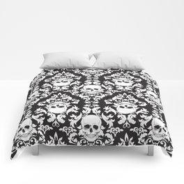 Skull Damask Comforters