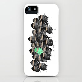 the neon ninja iPhone Case