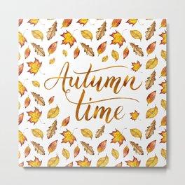 Autumn Time Metal Print