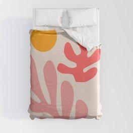 Henri Matisse - Leaves - Blush Duvet Cover