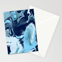 Guilded Wave Stationery Cards