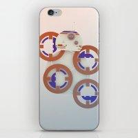 starwars iPhone & iPod Skins featuring StarWars BB8 by Joshua A. Biron