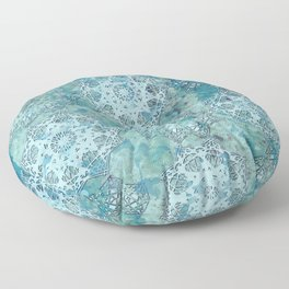 Moors Patina Mandalas Floor Pillow