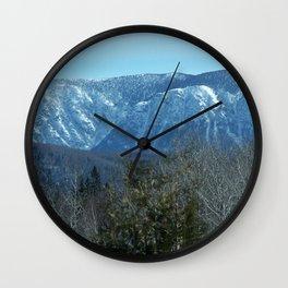 Chic-Choc Mountain Peaks Wall Clock