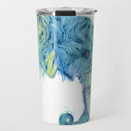 Elephant Head II Travel Mug