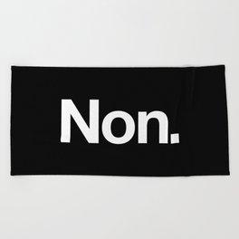 Non Beach Towel