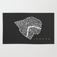 london Area & Throw Rugs featuring LONDON by Nicksman