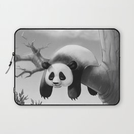 Hang In There, Panda! Laptop Sleeve