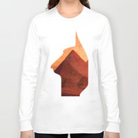 egypt Long Sleeve T-shirts featuring Egypt by Mehdi Elkorchi
