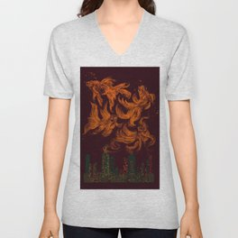 Big City Dreams Unisex V-Neck