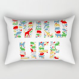 Wild Life Rectangular Pillow