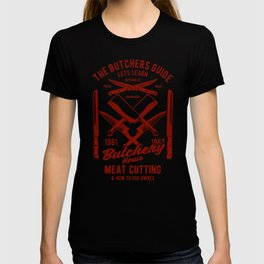 the butchers guide T-shirt
