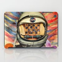 nasa iPad Cases featuring NASA Messed Me Up by Collage Calamity