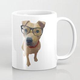 Kane the Staffie Dog Polygon Art Coffee Mug