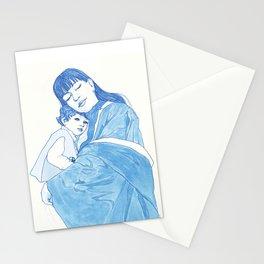 HowMotherHoldsBaby Stationery Cards