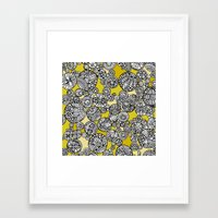 circles Framed Art Prints featuring Circles by Valentina Harper