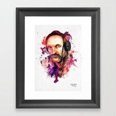 Cossack Ivan Sirko listen music Framed Art Print