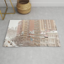Snow Day in the Upper West Side Rug