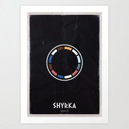 AI - SHYRKA Art Print