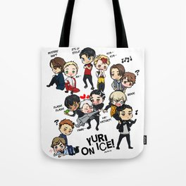 Yuri On Ice - Full Chibi Team! Tote Bag