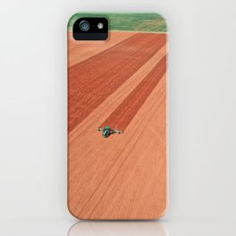 Agriculture tractor cultivator  iPhone Case