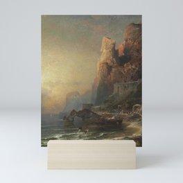 Franz Richard Unterberger (Austrian, 1837-1902) Gulf of Salerno Mini Art Print