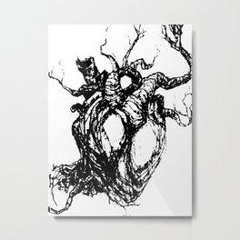 HeartTree Metal Print
