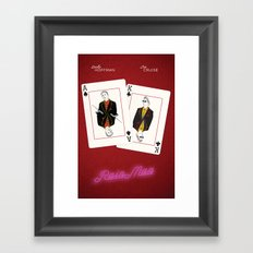 Rain Man Framed Art Print