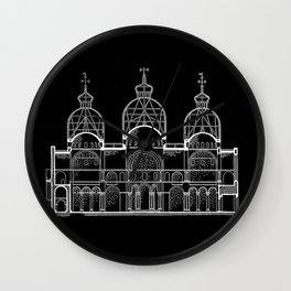 San Marco Section Wall Clock